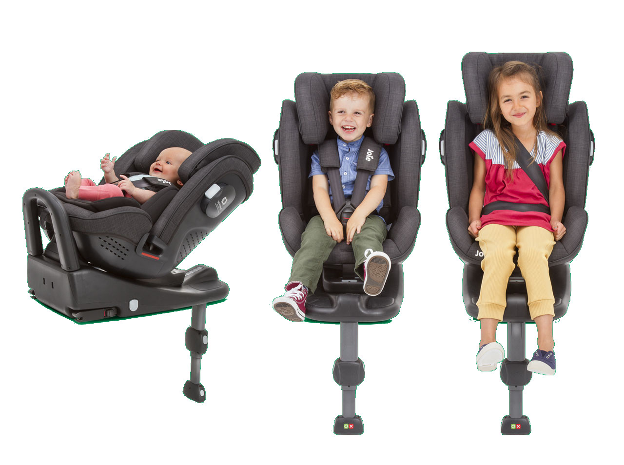 Stages2 - Joie Stages 0-25 Isofix kg kolor Pavement